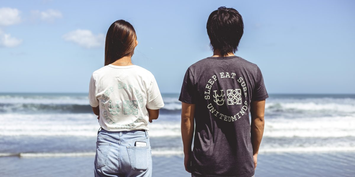Sleep Eat Surf Logo Tee